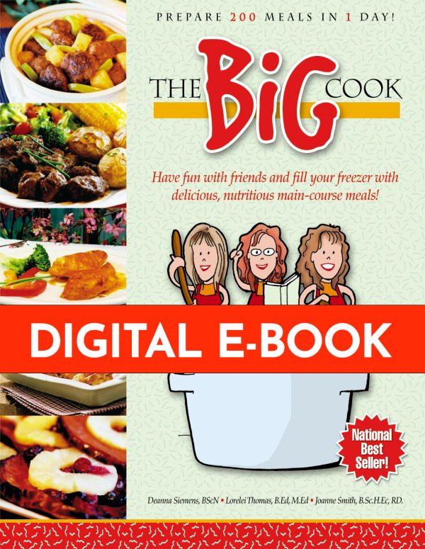Cover of The Big Cook Cookbook - Digital Version