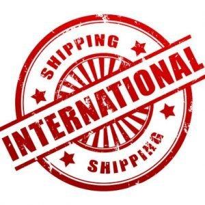 international shipping logo